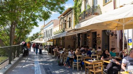Athens has a dynamic food scene