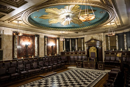 The Masonic Temple was once hidden in the depths of the Andaz Hotel in London