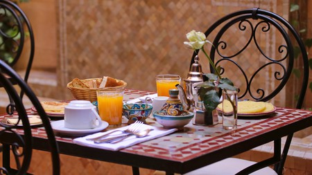 Start your day in Marrakech with a delicious breakfast
