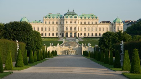 Go to Belvedere Palace for excellent views over Vienna