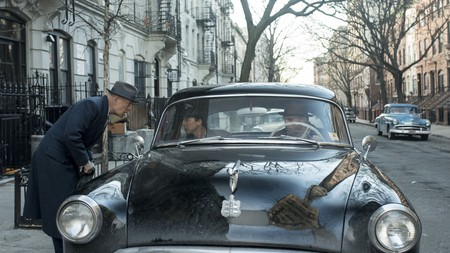 Bruce Willis (left) and Edward Norton in 'Motherless Brooklyn'