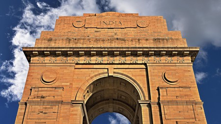 India Gate in New Delhi is a war memorial