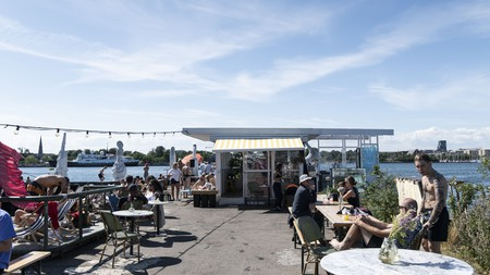 Refshaleøen is one of many places in Copenhagen that its citizens use as an extended living room