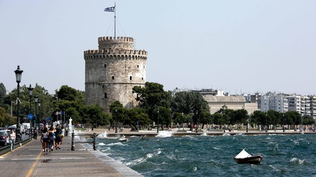 The White Tower is Thessaloniki's most famous landmark