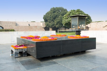 Raj Ghat, Tomb Of Mahatma Gandhi