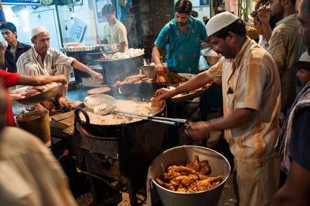 Local restaurant in Chandni Chowk