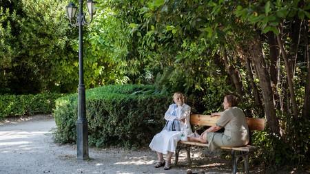 Take a break in the National Garden