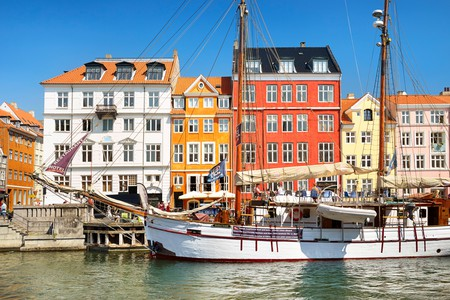 Relax as you stroll past Copenhagen's colourful architecture and pretty canals