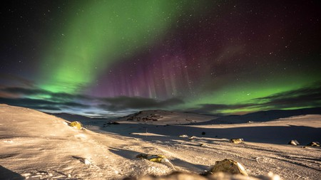 Norway is one of the places you can see the Aurora Borealis light display