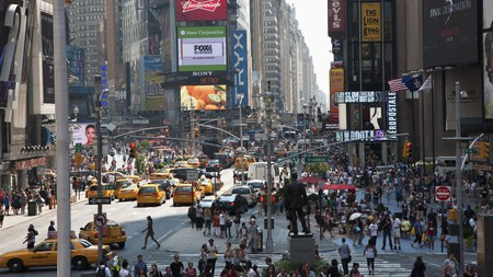 If sensory stimulation is what you crave, Times Square is a good choice