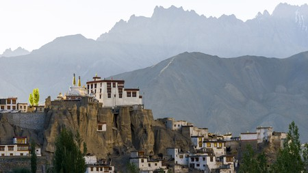 India is home to many Buddhist monasteries