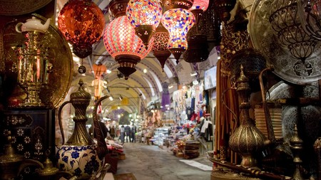 The Grand Bazaar in Istanbul dates back to the 15th century
