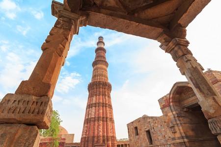 Ruins at Qutub Minar, Delhi