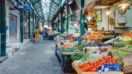 Thessaloniki's markets provide the city's chefs and home cooks with fresh fruit and veg