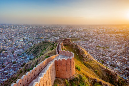 Jaipur, with its pink-hued buildings and lively atmosphere, is a truly magical city