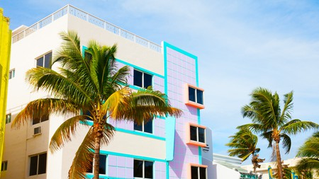 South Beach Miami is known for its cheerful architecture