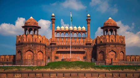 The Red Fort is situated in the Old Delhi area of New Delhi