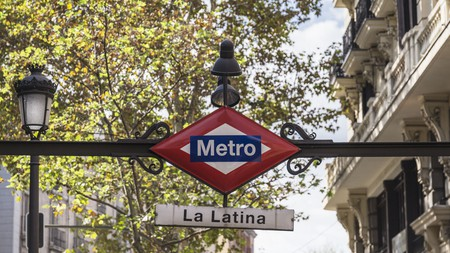 The Madrid Metro is one of several public transportation options in the Spanish capital
