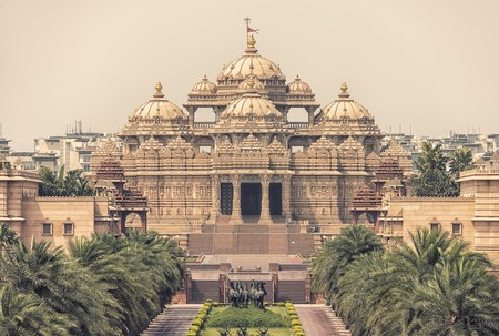 Indian temple in New Delhi