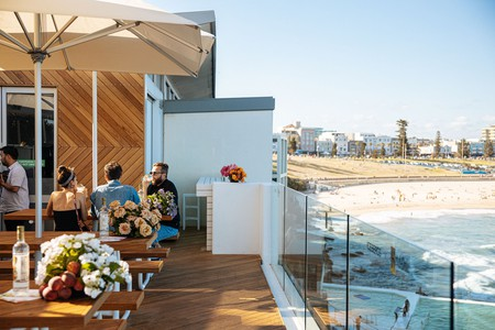 Enjoy cocktails with a view at Icebergs Terrace
