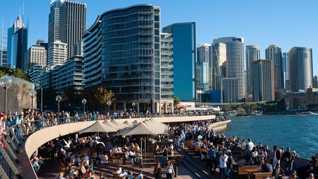 Sydney's CBD is home to a number fantastic bars, many of them with stunning views