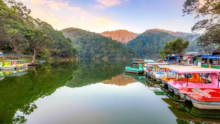 Find the quieter side of the popular hill station of Nainital
