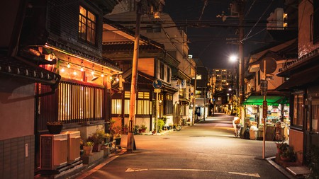 Dotted along the streets of Nakazakicho are lively bars, cafés and art galleries