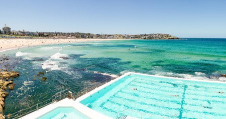 Bondi Beach is home to the world's most famous ocean pool