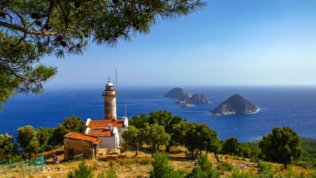Gelidonya lighthouse on the Lycian Way