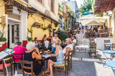 Athens is increasingly becoming a hotspot for plant-based cuisine