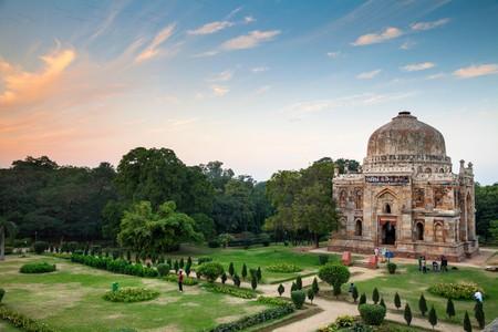 Lodi Garden, Shish Gumbad Tomb