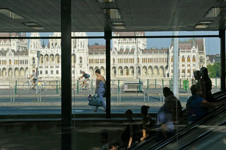 Budapest's public transport includes a metro, buses, trams and bike sharing schemes