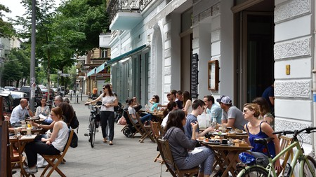 Schöneberg boasts lively bars and mouth-watering restaurants