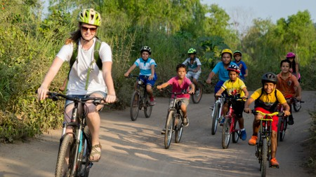 Careyes teaches about the local flora and fauna on its bike rides