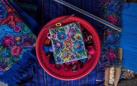 A women's cooperative is using their skills in traditional Guatemalan textiles to give back to their community