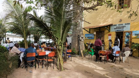 Beachside restaurants are starting to make more of an effort with their breakfast options in Dakar