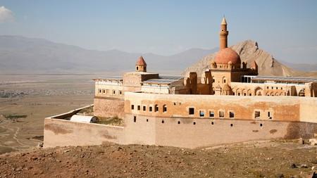 Ishak pasa palace, Dogubayazit, Turkey.