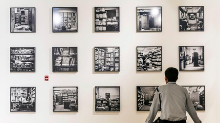 Work by Dayanita Singh is on show at the Kiran Nadar Museum of Art in New Delhi