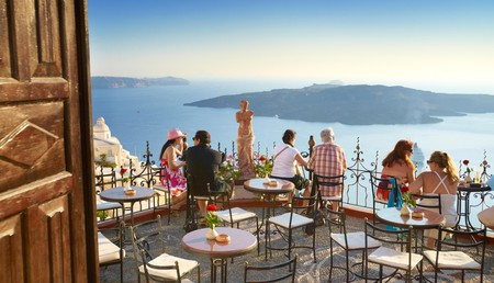 Stunning views over the caldera and the island's iconic whitewash houses are a big draw for many visitors to Santorini