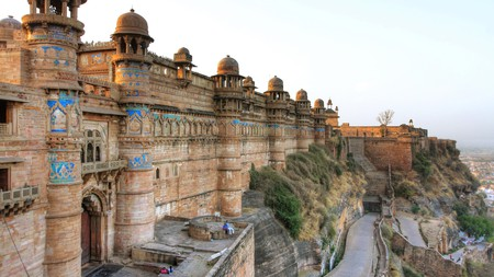 The 10th-century Gwalior Fort is just one of Madhya Pradesh's many draws for visitors
