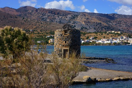 Spinalonga Island, a former leper colony, is the subject of Victoria Hislop's novel 'The Island'