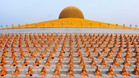 Wat Phra Dhammakaya temple