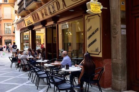 cafe Casa Aranda, Malaga, Costa del Sol, Andalusia, Spain