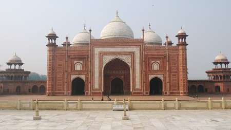 The Jama Masjid, built during the Mughal Empire, is one of the largest Mosques in India