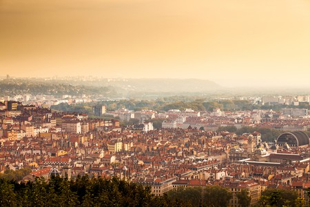 Hike up to the Basilica of Notre-Dame de Fourvière for stunning views over Lyon