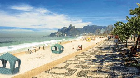 Rio de Janeiro's beachside kiosks are undergoing a redesign