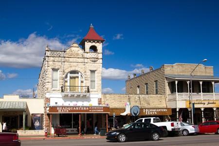 Downtown Fredericksburg, Texas.