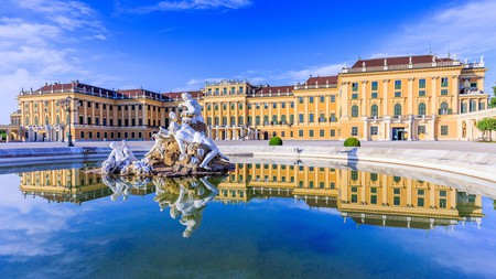 Schönbrunn Palace, the former imperial summer residence, is a UNESCO World Heritage site