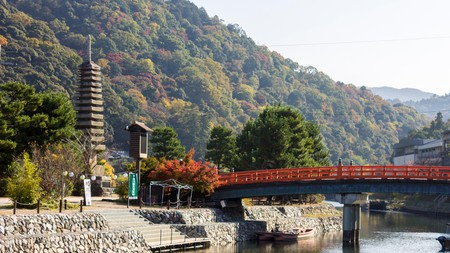 Uji's close proximity to Kyoto, Nara and Osaka makes it a perfect day trip from any of these cities