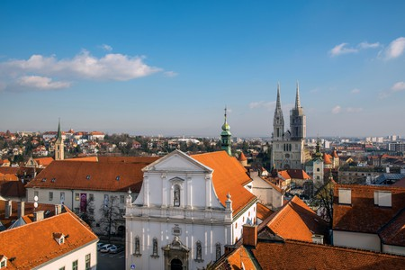 The Baroque architecture of Zagreb's old town is one of the city's prime draws